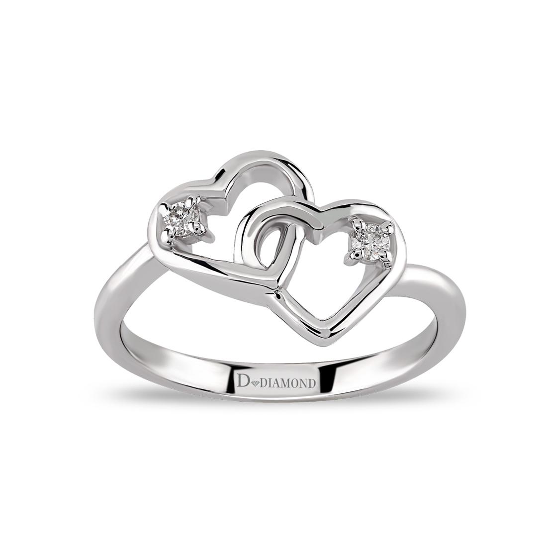 Tasarım Pırlanta Yüzükler (Gümüş)