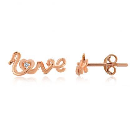 Love Pırlanta Küpe